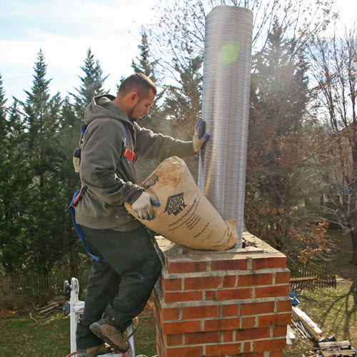 How to install Chimney Liner